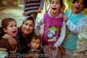 Réfugiés Syriens par Freedom House via Flickr CC